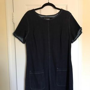 Vince camuto denim dress